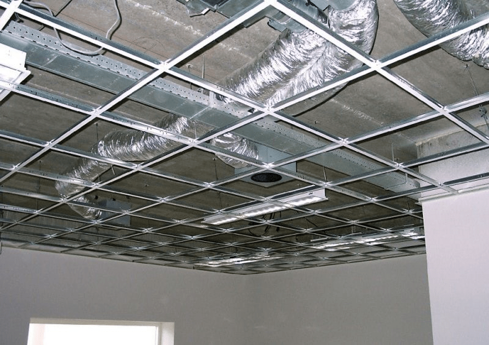 Коммуникации над потолком