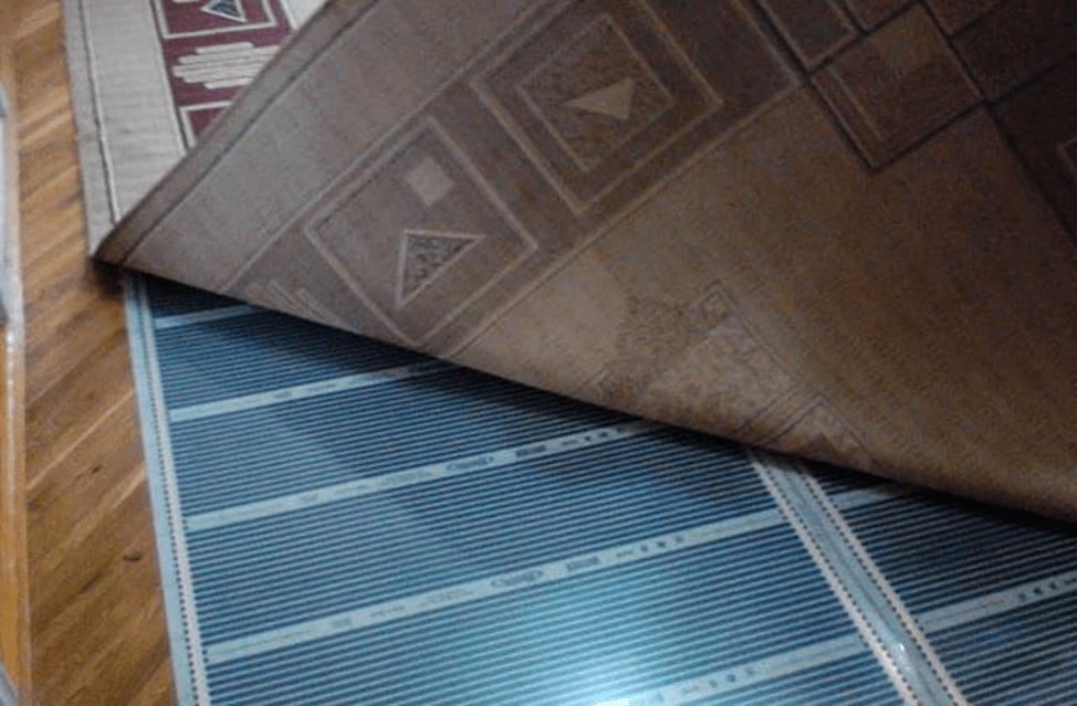Пленочный пол под ковер