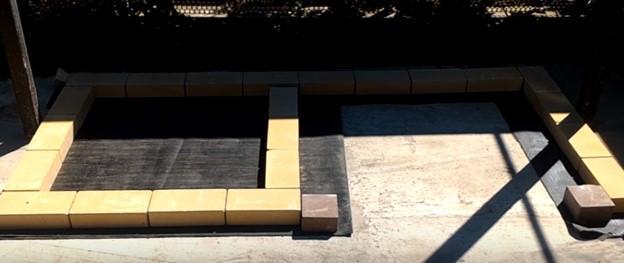 Основа для гриля на древесном угле