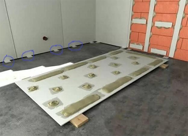 Выравнивание стен гипсокартоном: без каркаса и с использованием профиля