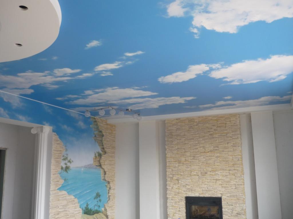 Фотообои стены и потолок