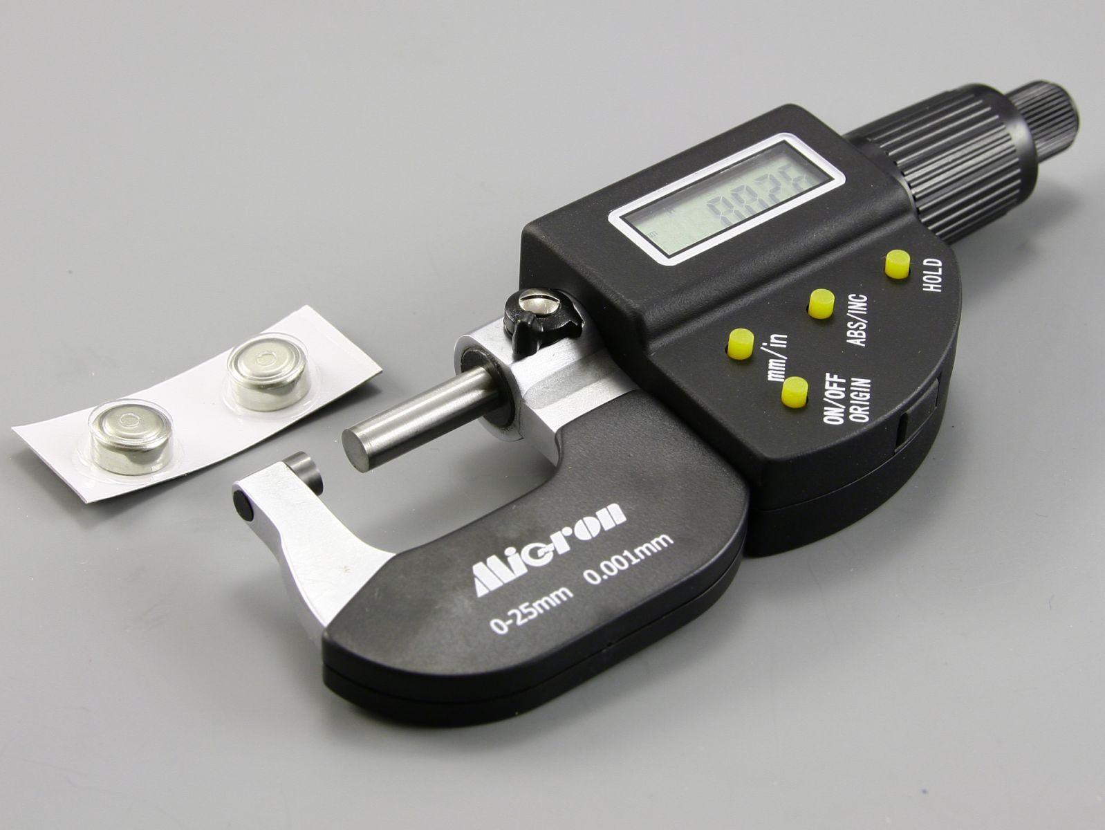 Микрометр с цифровым дисплеем