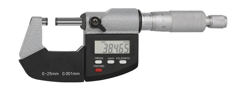 Современный цифровой микрометр