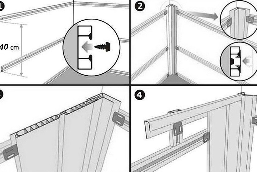 Отделка балкона пластиковыми панелями ПВХ – пошаговая инструкция