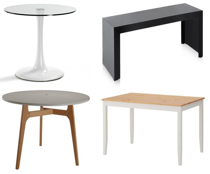 Количество опор у столов
