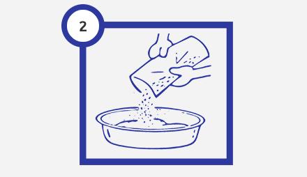Шаг 2 нанесение жидких обоев