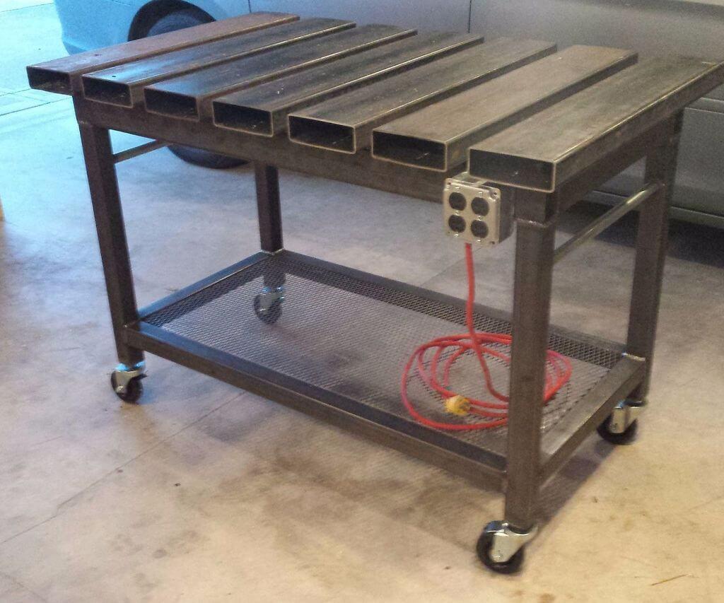 Сварочный стол из металла