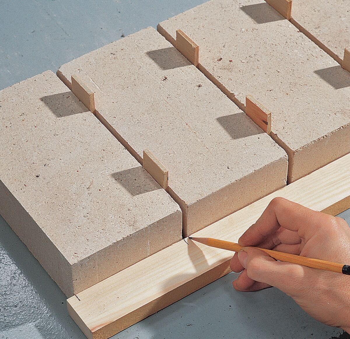 Проставки между блоками