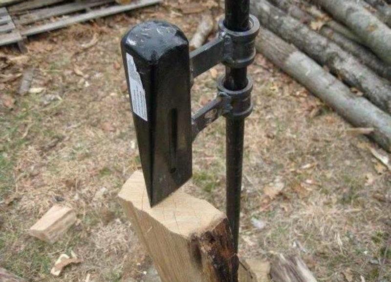 Дровокол своими руками - инструкция по изготовлению колуна для дров с фото и видео