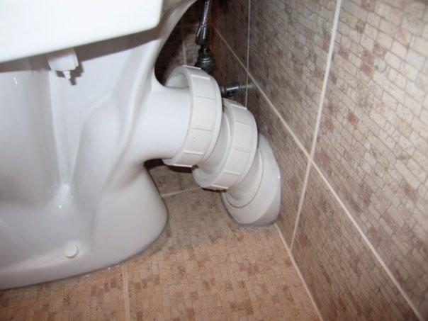 Переходники для подключения унитаза к канализации