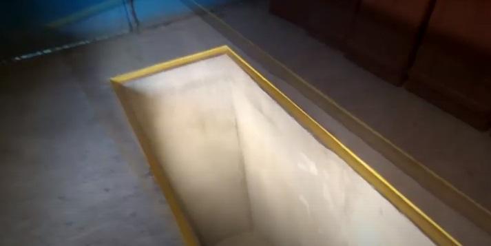 Покраска стен ямы