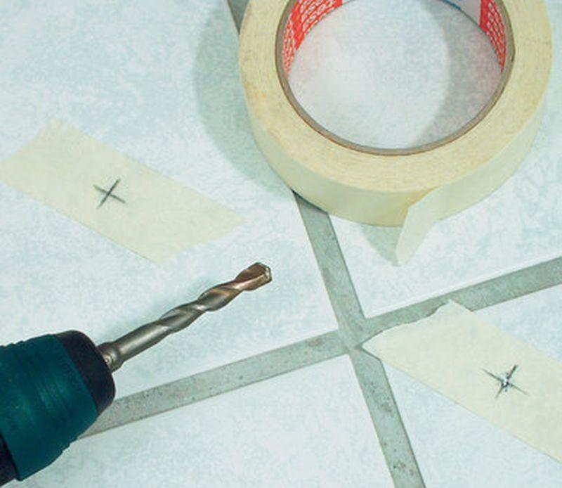 Сверление плитки