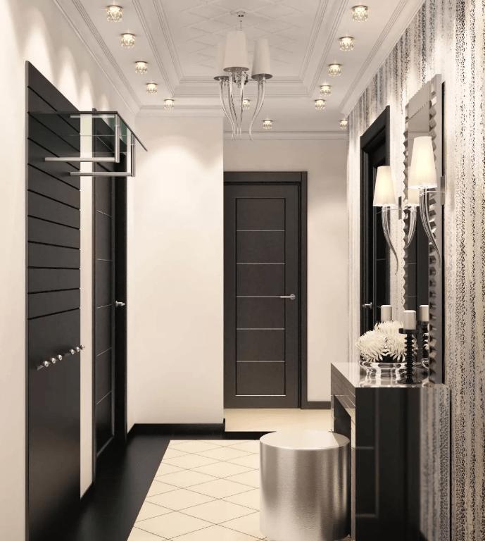 Фото и дизайн ремонта в коридоре