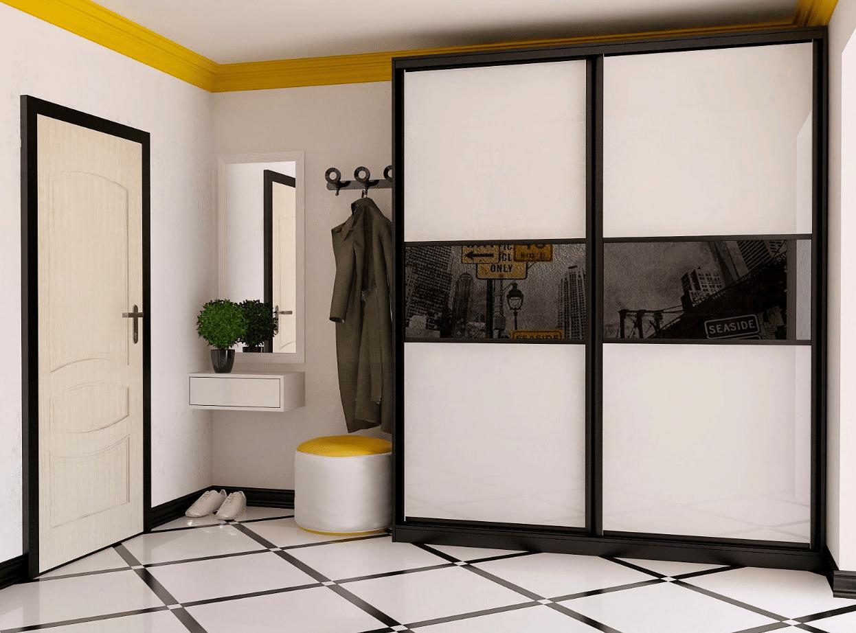 шкафы-купе в коридоре