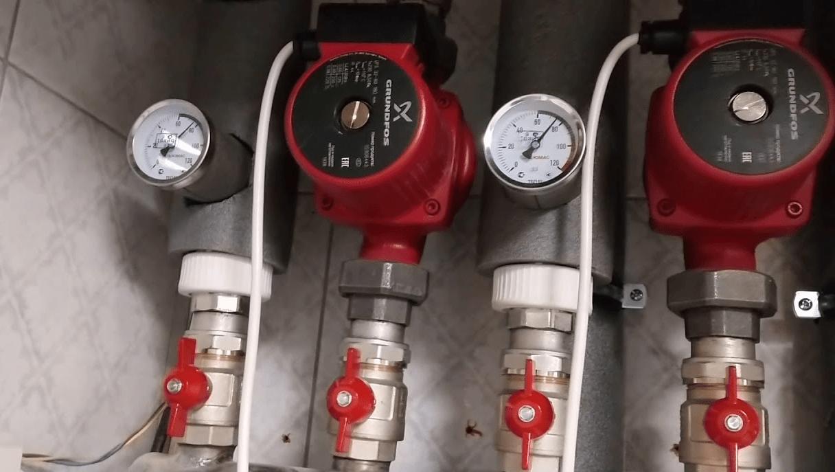 Корректируем давление в системе отопления