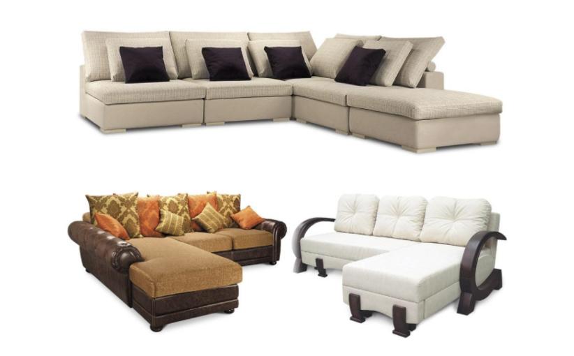 Какие виды угловых диванов существуют?