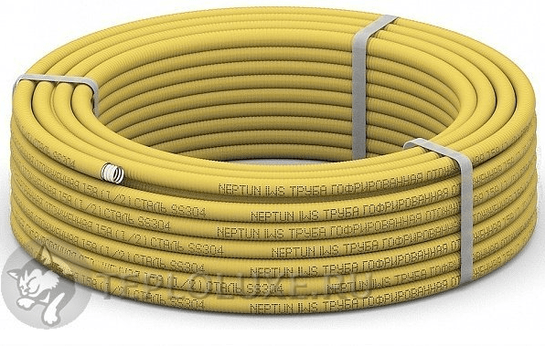 трубы отожженные с желтой оболочкой